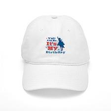 Kiss Me Cowboy Birthday Baseball Cap