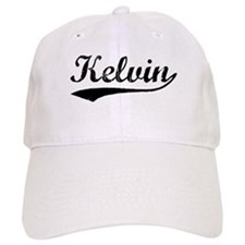 Vintage Kelvin (Black) Baseball Cap