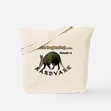 Aardvark Genesis 1:1 Tote Bag