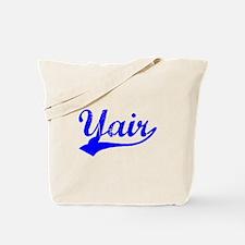 Vintage Yair (Blue) Tote Bag