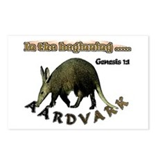 Aardvark Genesis 1:1 Postcards (Package of 8)