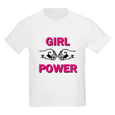 Girl Power Kids Light T-Shirt