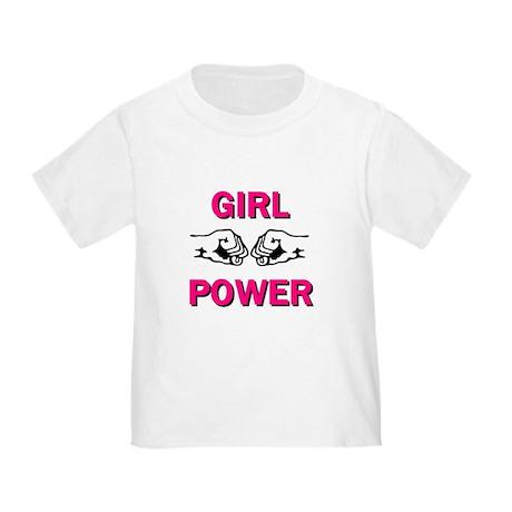 Girl Power Toddler T-Shirt