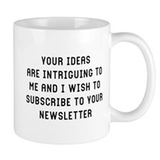 Your Ideas Small Mug