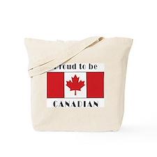 Proud Canadian Tote Bag
