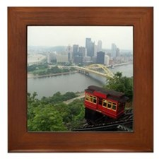 Pittsburgh Skyline Framed Tile