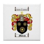 Moran Family Crest Tile Coaster