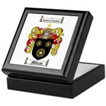 Moran Family Crest Keepsake Box