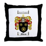 Moran Family Crest Throw Pillow