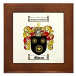Moran Family Crest Framed Tile
