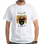 Moran Family Crest White T-Shirt