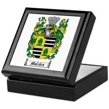 Morales Family Crest Keepsake Box