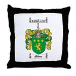 Moore Family Crest Throw Pillow