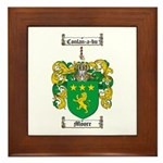 Moore Family Crest Framed Tile