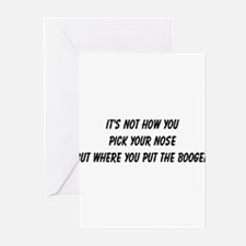 booger Greeting Cards (Pk of 20)