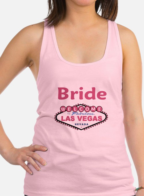 Paris Pink Bride Tank Top