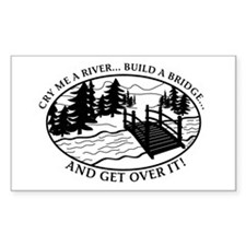 Get Over it! Rectangle Decal