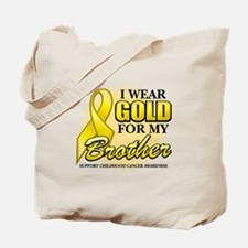 Gold For My Brother Tote Bag