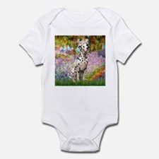 Monet's Garden & Dalmatian Infant Bodysuit