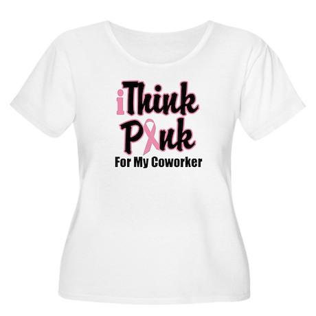 iThinkPink Coworker Women's Plus Size Scoop Neck T