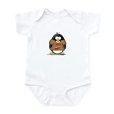I Love PI Penguin Infant Bodysuit
