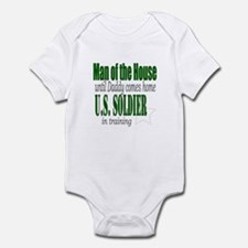 Army Man of the house Infant Bodysuit