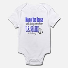 Seabee in training Infant Bodysuit
