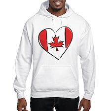 Love Canada Hoodie Sweatshirt