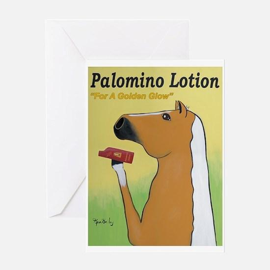 Palomino Lotion Greeting Card