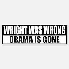 Wright Was Wrong Bumper Bumper Bumper Sticker