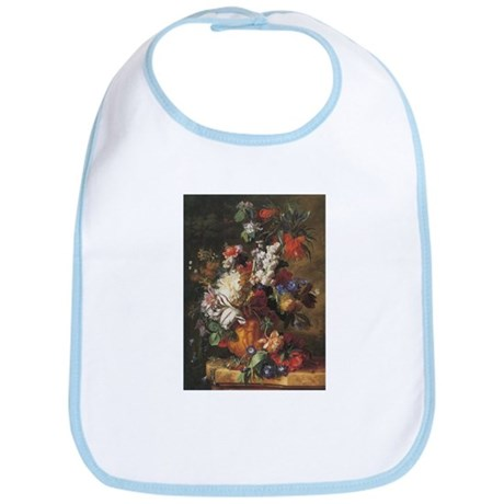 Bouquet of Flowers painting by Huysum Bib