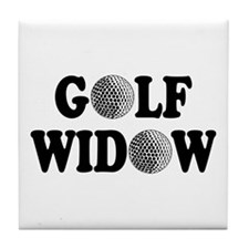 Golf Widow Tile Coaster