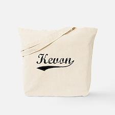 Vintage Kevon (Black) Tote Bag