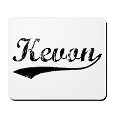 Vintage Kevon (Black) Mousepad