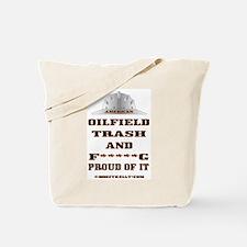 American Oil Field Trash Tote Bag