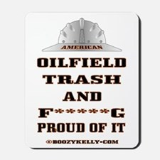 American Oil Field Trash Mousepad