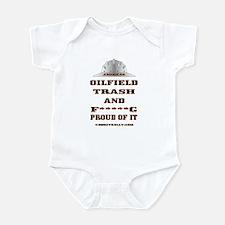 American Oil Field Trash Infant Bodysuit
