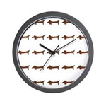 Weiner Dog Wall Clock