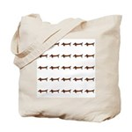 Weiner Dog Tote Bag