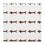 Weiner Dog Tile Coaster