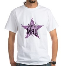 Purple Star Due In May Shirt