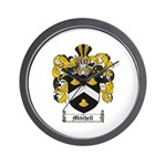 Mitchell Family Crest Wall Clock
