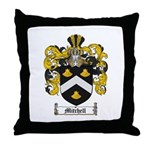 Mitchell Family Crest Throw Pillow