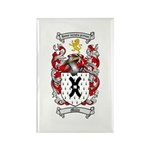 Mills Family Crest Rectangle Magnet (10 pack)