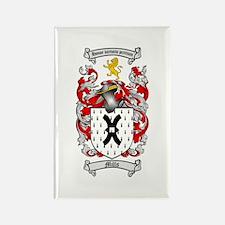 Mills Family Crest Rectangle Magnet (10 pack)