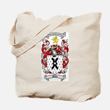 Mills Family Crest Tote Bag