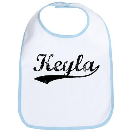 Vintage Keyla (Black) Bib