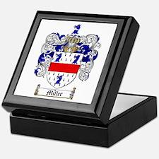 Miller Family Crest Keepsake Box