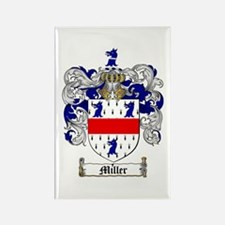 Miller Family Crest Rectangle Magnet (10 pack)
