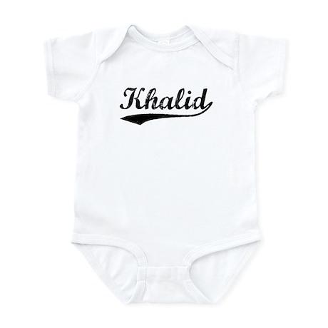Vintage Khalid (Black) Infant Bodysuit